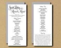 diy wedding ceremony program custom wedding ceremony programs by runkpock designs printed or