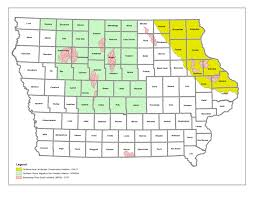 Iowa Counties Map Usda Landscape Initiatives Offer Higher Payments Nrcs Iowa