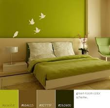 Green Color Scheme Room Ideas Interior Design Pinterest - Green color bedroom