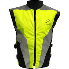 bicycle jacket black hi vis reflective motorcycle vest motorbike waistcoat