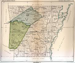 State Of Arkansas Map by Indian Land Cessions Maps And Treaties In Arkansas Indian