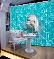Blue Curtains Online Get Cheap Ocean Blue Curtains Aliexpress Com Alibaba Group