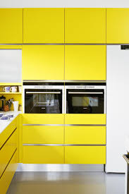 kitchens with yellow cabinets violet and yellow metal kitchen cabinets kitchen