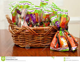 Gift Baskets For Halloween by Halloween Candy Stock Images Image 34987004