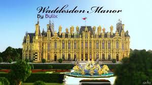 waddesdon manor the waddesdon manor a neo renaissance manor minecraft project