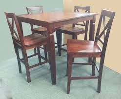 dining room pub tables pub table 4 pub chairs wood go direct 1638 dining room