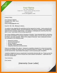 8 how to write a internship cover letter new hope stream wood