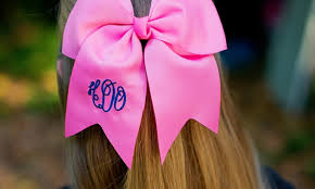 custom hair bows monogrammed clip in hair bows embellish accessories and gifts