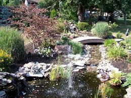 Backyard Fish Pond Ideas Outdoor Fish Pond Ideas Tags Pond Garden Design Garden
