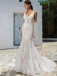 justin alexander 8961 v neckline fit and flare wedding dress