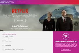 netflix partners with virgin america to offer free in flight wi fi