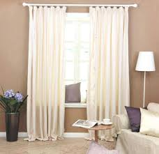 Plain White Curtains Curtain Cozy Curtains Beige Panel Room Darkening With