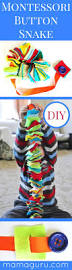 montessori button snake diy diy buttons simple crafts and
