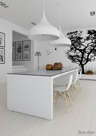 black and white interiors 40 images stunning white kitchen interior decoration ambito co