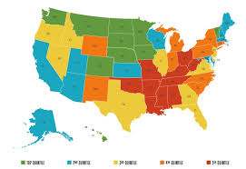 happiest states in america happiest states in america business insider