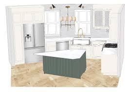 kitchen design plans with island our kitchen design plan emily henderson