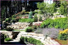 Landscaping Ideas For Sloped Backyard Landscape Design For Sloped Area Sloped Backyard Landscape Ideas