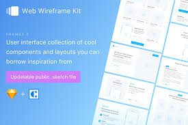 frames 3 wireframe kit for sketch in free u0026 paid versions sketch