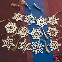 lenox twelve days of set 12 snowflake ornaments lot