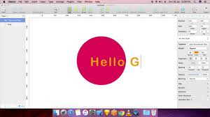 learn how to make text on a path in sketch app tutorial youtube