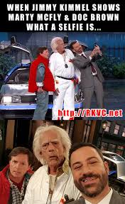 back to the future crashes jimmy kimmel meme the news