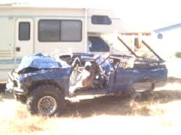 wrecked toyota trucks for sale truck got wrecked last pirate4x4 com 4x4 and