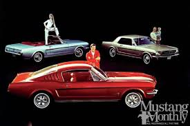 65 mustang accessories 1965 1966 mustang options and accessories mustang monthly magazine
