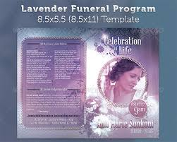 free sle funeral programs templates free funeral card templates