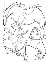 brother bear coloring pages free printable brother bear coloring