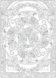articles with peacock mandala coloring page tag peacock color page