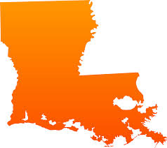 State Map Of Louisiana by Maps Of Usa All Free Usa Maps