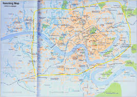 Map Of Usa Attractions by China Nanning Map Tourist Attractions Hotels