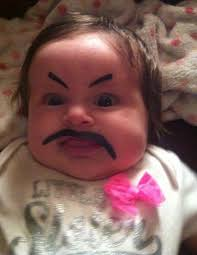 Laughing Baby Meme - these babies look so hysterical with their angry eyebrows you will