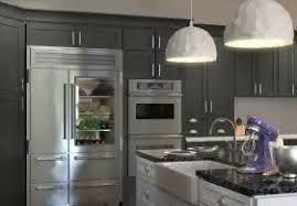 Grey Shaker Kitchen Cabinets by Natural Grey Shaker Pre Assembled Kitchen Cabinets C U0027s Lighting