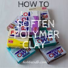 how to soften polymer clay tips and tricks working with polymer