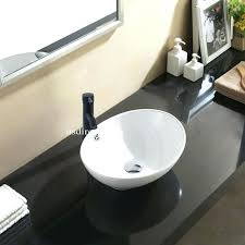oval undermount bathroom sink undermount bathroom sink oval mourouj info