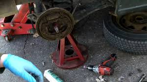 how to change a rear wheel bearing 1999 suzuki swift geo metro