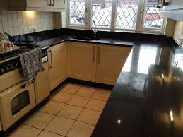 Black Countertop Kitchen by Granite Countertop How To Make Kitchen Island From Cabinets