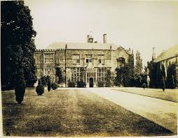brympton entrance front 1860 great british houses and buildings