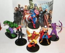 marvel cake toppers marvel figure cake toppers