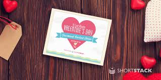 valentines ideas for contest ideas for s day shortstack