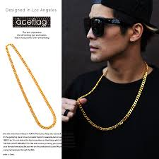 mens necklace style images Japanese style jewelry gifts women men thick miami cuban necklaces jpg