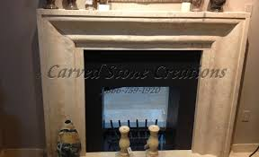 Travertine Fireplace Hearth - light oriental travertine mitered profile surround with hearth
