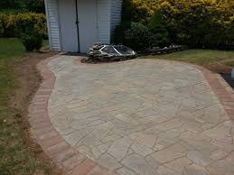 flagstone paver patio in bowie md life time pavers