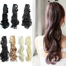 Long Synthetic Hair Extensions by Find More Ponytails Information About Heat Resistant Fake Hair