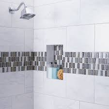 Porcelain Tile For Bathroom Shower American Olean Mirasol Marble Look Porcelain Tile Bathroom