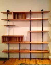 mid century modern wall unit bookshelf othertimesvintage mid