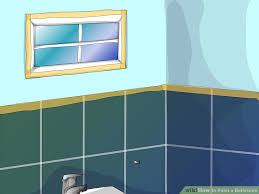 How To Paint A Bathroom  Steps With Pictures WikiHow - Bathroom step