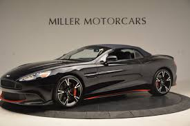 aston martin vanquish matte black 2018 aston martin vanquish s volante stock a1249 for sale near