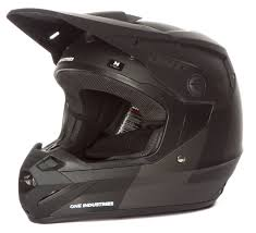 one industries motocross helmets one industries mx helmet atom stealth black 2016 maciag offroad